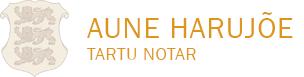 Tartu Notar Aune Harujõe